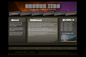 Website Design Website Development - Ground Zero Project