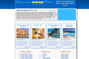 Website Design Website Development - Bermuda Hot Deals Project